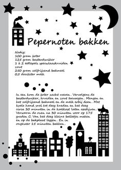 """Recept pepernoten """"Creativity is contagious. Pass it on. Diy For Kids, Crafts For Kids, Vegan Pastries, Saint Nicolas, Dutch Recipes, Einstein, Holidays And Events, Food Inspiration, Winter Wonderland"""