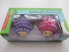 Hedgehog Lip Gloss, Strawberry & Cherry - Great Gift Idea