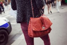Every girl should have a Chanel bag. The perfect accessory. StockholmStreetStyle
