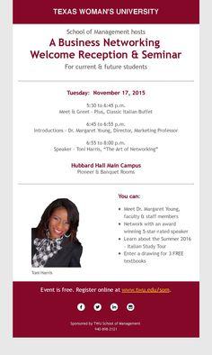 Networking Event #IAMTWU Nov 17th 2015