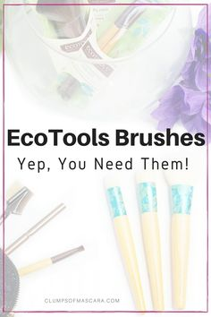 EcoTools Brushes – The Best Makeup Brush Brand Everrrr!