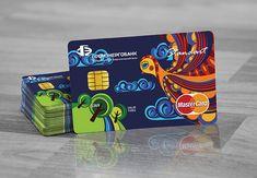 Bank card on Behance