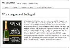 Win A Mangum Bottle Of Bollinger Wine