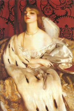 Pre Raphaelite Art: Frank Cadogan Cowper, Vanity