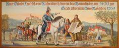 Wandgemälde im Rathaus , Rastenberg
