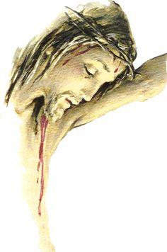 Jesus Christ on the Cross – Canvas Inspo – epoxyet Images Du Christ, Pictures Of Jesus Christ, Religious Pictures, Religious Art, Jesus Artwork, Crucifixion Of Jesus, The Cross Of Christ, Jesus Cross, Saint Esprit
