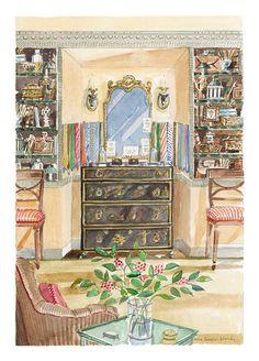 Mark Birley's Dressing Room // Mita Corsini Bland
