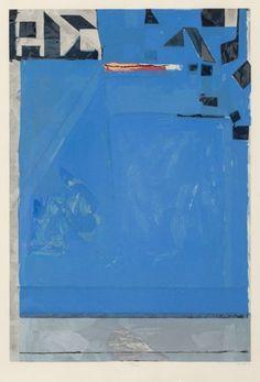 Richard Diebenkorn (1922-1993)Blue with Red...