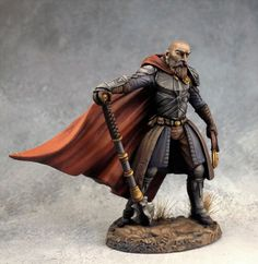 Male Cleric with Mace - Visions in Fantasy - Miniature Lines