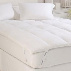 Discount Duos - Down and Feather Mattress Topper Hypoallergenic Feather Bed All Sizes, $65.99 (http://www.discountduos.com/down-and-feather-mattress-topper-hypoallergenic-feather-bed-all-sizes/)
