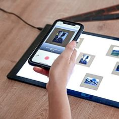 Amazon.com: Photomyne Ultra-Thin USB Powered Light Pad for Supporting Photo Slide and Film Negative Scanning Including a USB Adapter - Black : Office Products