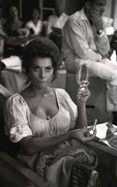 'Madame Sans-Gene' - behind the scenes