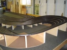 Suspending and 8 X 18 Track from Ceiling - Help - Slot Car Illustrated Forum