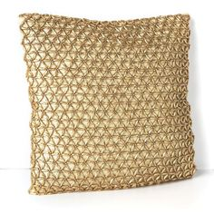 "Donna Karan Modern Classics Glimmer Star Decorative Pillow, 12"" x 12"""