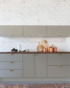 kitchen cabinets and handles
