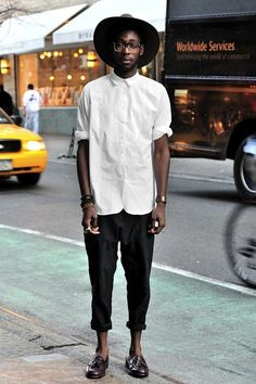 White Shirt Fashion Mens