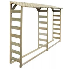 Firewood Stand, Firewood Logs, Firewood Storage, Stove Accessories, Log Store, Cheap Kitchen Cabinets, Types Of Cabinets, Wooden Sheds, Diy Wood Projects