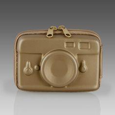 Gold Plastic Camera Case: $25 #Camera_Case #Paul_Smith