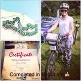Abby's The Cozens-Hardy Cycle Ride page I am going to complete a 50 mile bike ride for #Depression Alliance because i want to raise money for...