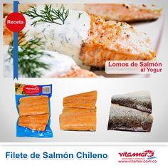 El día de hoy les recomendamos esta deliciosas receta Lomos de Salmón al Yogur, porque es muy saludable, fácil de preparar y tiene el sabor único.http://vitamar.com.co/lomos-de-salmon-al-yogur/ ¡Esperamos que la disfruten!