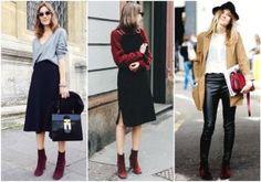 Alerta de tendência: como combinar botas de veludo