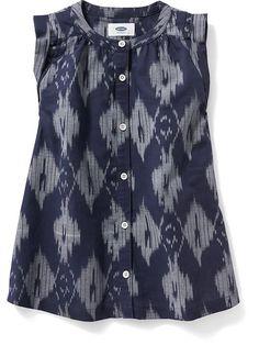 Linen Shirt-Dress for Baby