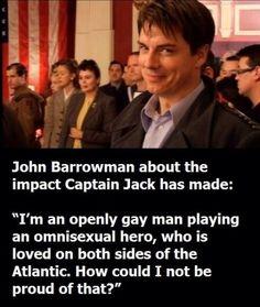 Just John Barrowman.