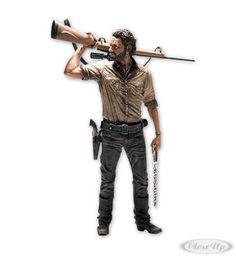 "The Walking Dead Deluxe 10"" Actionfigur Rick Grimes Hier bei www.closeup.de"