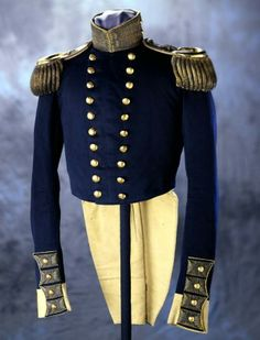 U.S. Dragoons Officer's Full Dress Coat 1847, American, Made of wool and silk