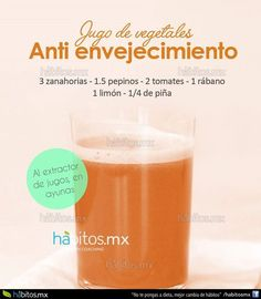 Hábitos Health Coaching | JUGO DE VEGETALES ANTI ENVEJECIMIENTO