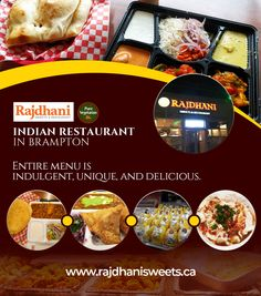 Entire menu is indulgent, unique and delicious food. For more detail call at: Delicious Food, Vegetarian Recipes, Menu, Sweets, Restaurant, Indian, Pure Products, Detail, Unique