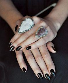Pamela Love Jasper Pave Arrowhead Ring