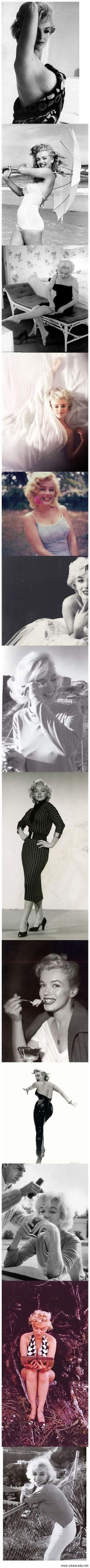 Marilyn Monroe, Absolutely stunning, let's go back to the 60's
