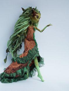OOAK Monster High Custom Art Doll: Xantha by ValravnDesigns
