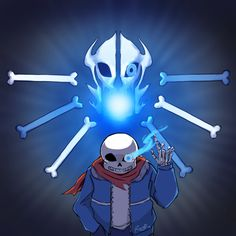 """Brother Killer """"On days like these, kids like you…"""" Undertale fanart. I see a lot of other artists depicting Sans wearing Papyrus's scarf/cape thing, which I find incredibly heartrending. I have been so obsessed with Undertale (which you should..."""