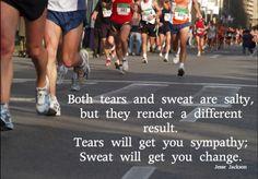 Running. :-)