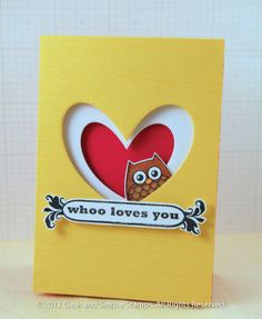 Whoo Loves You - Clear and Simple Stamps