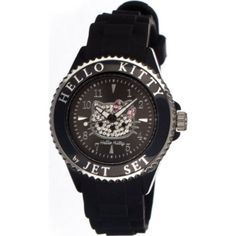 Buy the Jet Set Hello Kitty Ladies Watch at eBags - Add a touch of playful style to any casual outfit with this sparkling Hello Kitty watch from Jet Set Tech Accessories, Fashion Accessories, Hello Kitty Merchandise, Gift Store, Casio Watch, Night Club, Jet Set, Watches, Band