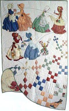 bonnet girls that sew applique. This pattern is pretty epic xxx
