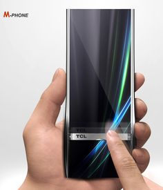 M-Phone is an elegant concept phone with adjustable dual display