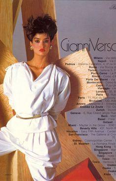 Janice Dickinson 1980's