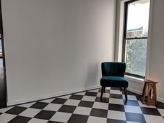 Foyer with chair