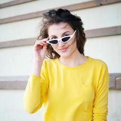 Ladies' sunglasses glasses Vuch Colorful Sunglasses Vuch fashion glasses fashion glasses women's glasses Leisure sunglasses Wallets For Women, Cat Eye Sunglasses, Lady, Fashion Accessories, Stella Mccartney, Handbags, Stylish, Womens Fashion, Outfit