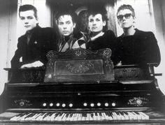 Bauhaus, Black Magick & Benediction: An interview w/ Bauhaus and Love & Rockets bassist David J, whose book pulls back the curtain on the Goth-Rock legends. Bauhaus Band, Love And Rockets, Skinny Puppy, Siouxsie & The Banshees, Gothic Rock, Gothic Art, Gothic Beauty, Alternative Music, Rock Legends
