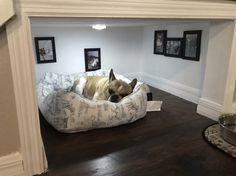 Dog Bedroom Under Stairs Spaces - Dog Under Stairs Spaces - New Ideas Animal Room, Animal House, Under Stairs Dog House, Space Under Stairs, Dog Stairs, House Stairs, Dog Bedroom, Coziest Bedroom, Bedroom Nook