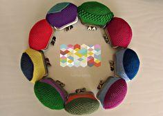 porte-monnaies en crochet * monederos de crochet