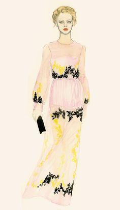 Teri Chung Illustration- Illustration Mode, Fashion Illustration Sketches, Fashion Sketchbook, Fashion Sketches, Fashion Drawings, Cute Fashion, Fashion Art, Vintage Fashion, Fashion Design