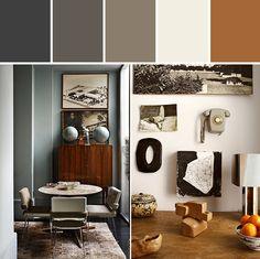 Colorful Home | Loft in Madrid #color #palette