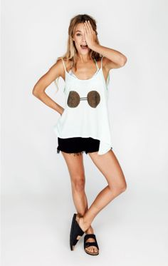 The Wildfox Coconuts Canyon Cami