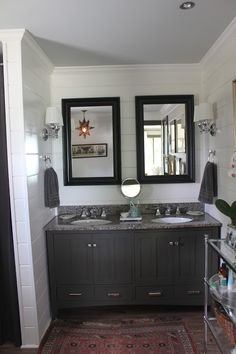 Maple Leaves & Sycamore Trees: Master Bathroom: Details